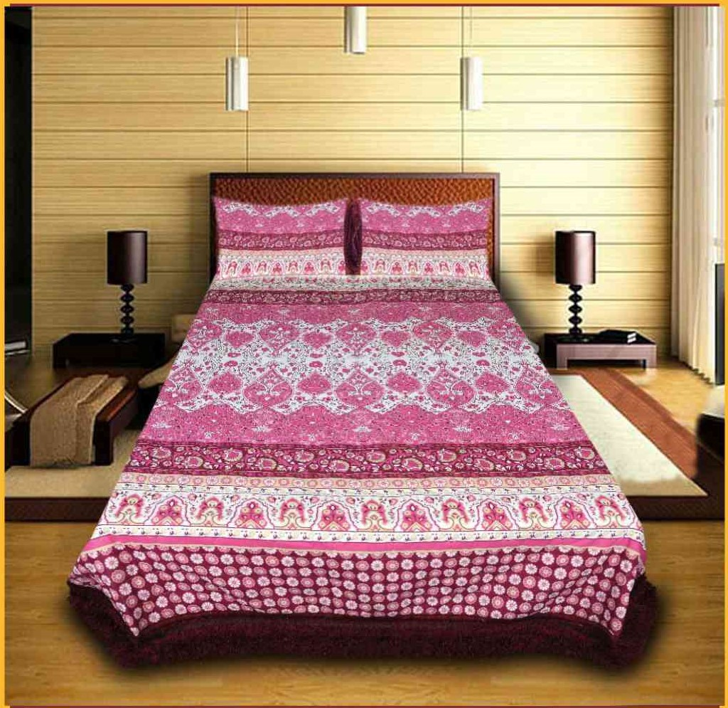 Home D Light Quilted Bed Cover Set 3 PCS